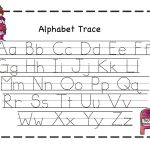 Abc Tracing Sheets For Preschool Kids | Kiddo Shelter | Alphabet And   Free Printable Preschool Worksheets Tracing Letters