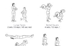 Abs & Butt Blast Gym Workout – Illustrated Exercise Plan Created At – Free Printable Gym Workout Plans