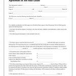 Adams Agreement To Sell Real Estate, Forms And Instructions   Free Printable Real Estate Forms