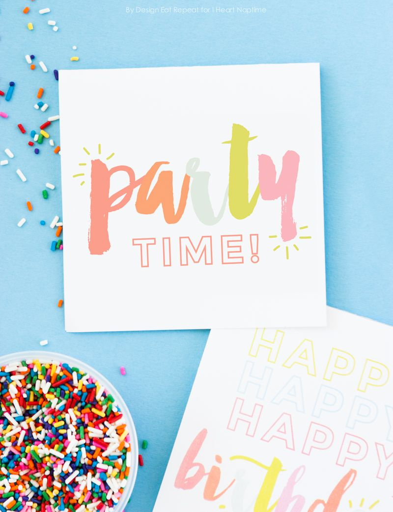 Adorable Free Printable Birthday Cards - I Heart Naptime | Birthdays - Free Printable Special Occasion Cards