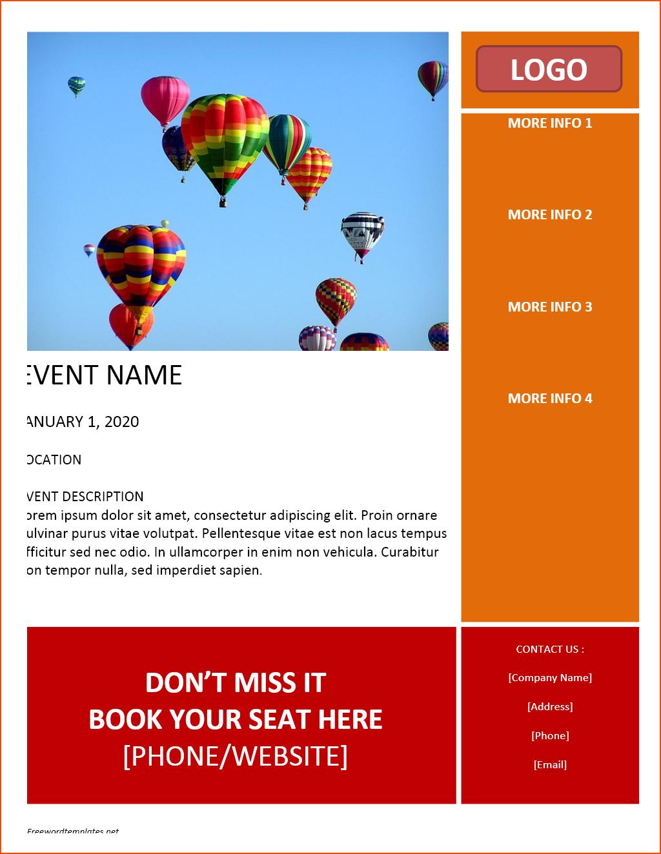 Advertising Flyers Samples Free Printable Flyer Templates Word - Create Free Printable Flyer