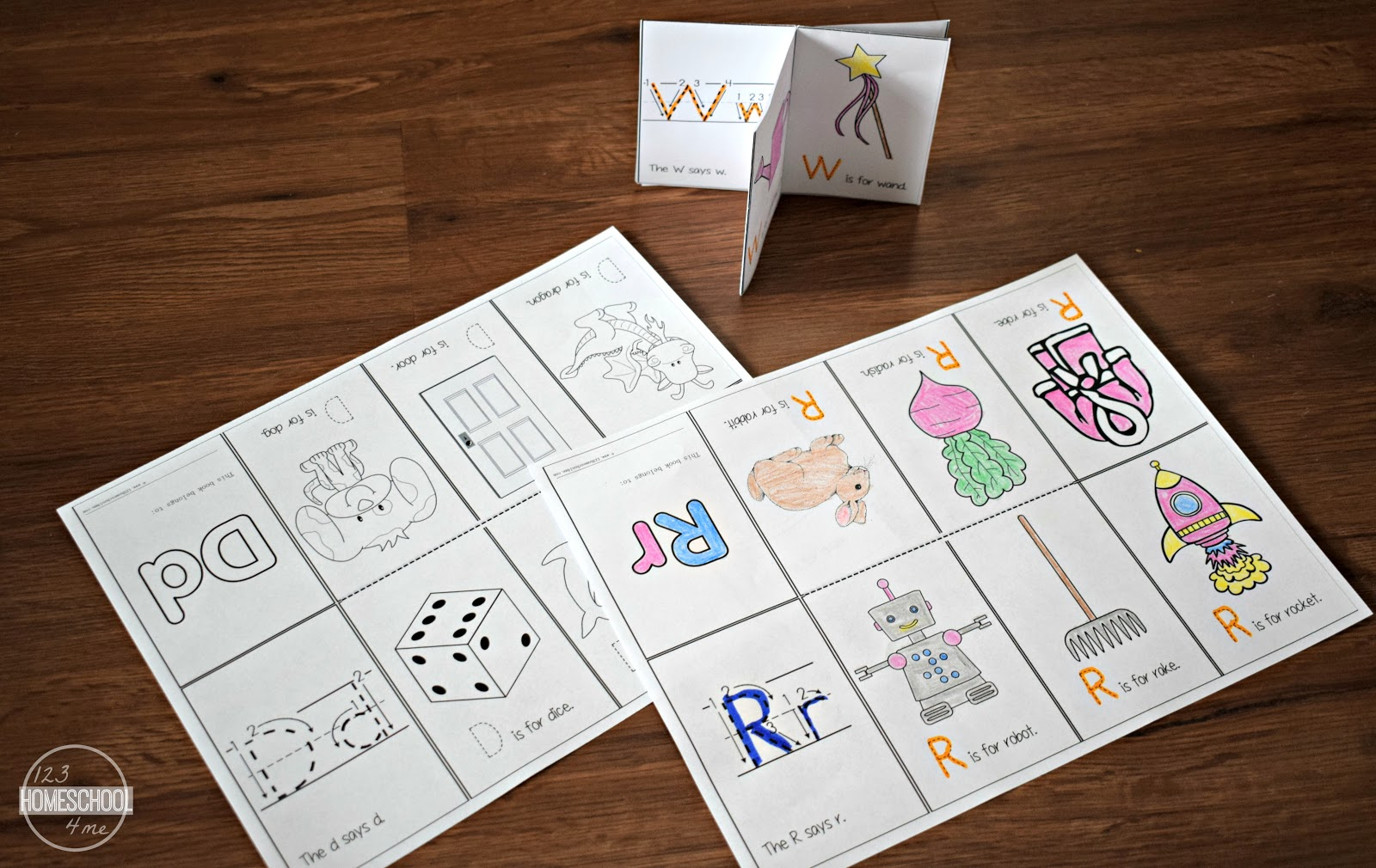 Alphabet Mini Book Printable | Www.topsimages - Free Printable Abc Mini Books