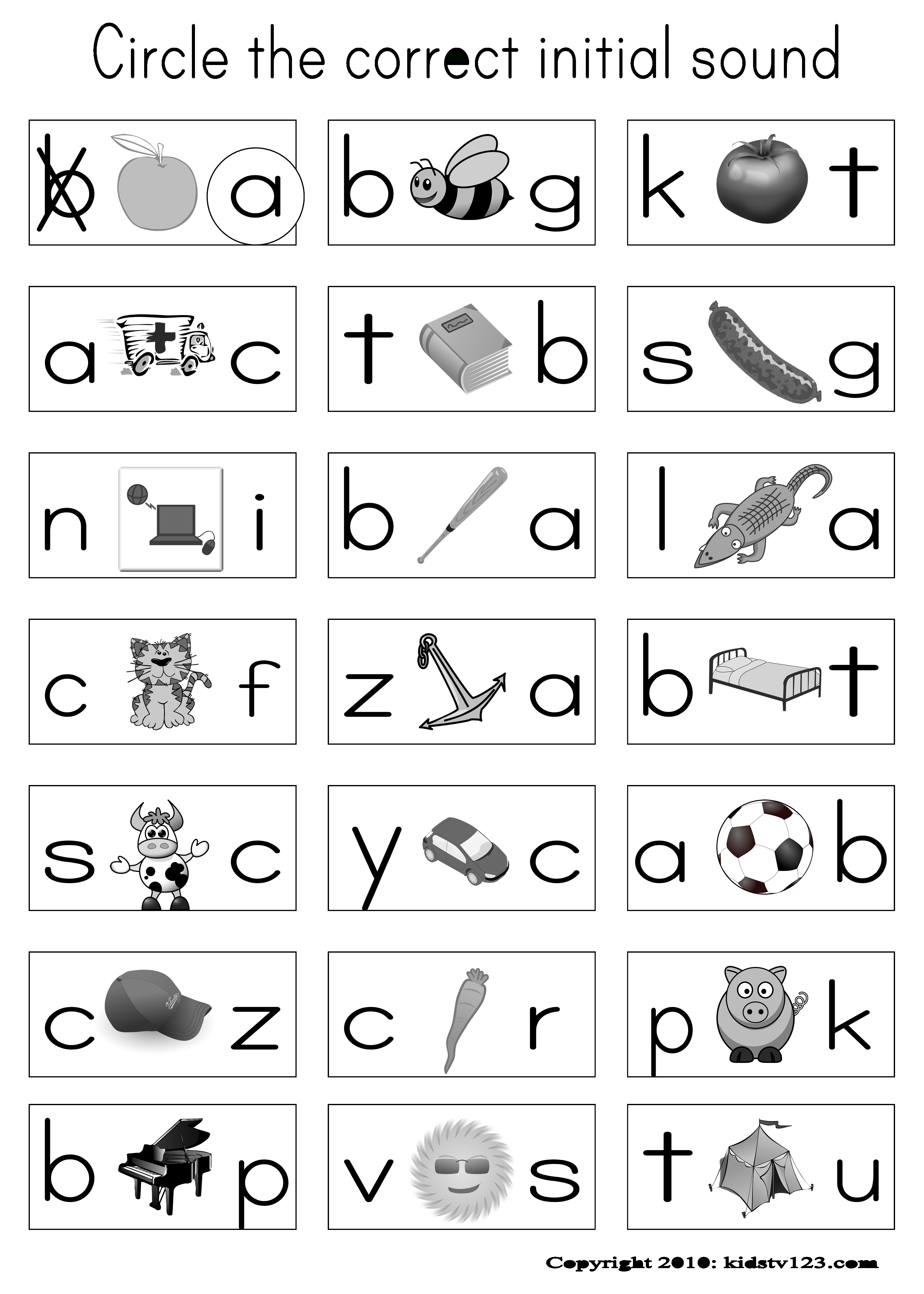 Alphabet & Phonics Worksheets - Free | Jolly Learning | Phonics - Phonics Pictures Printable Free