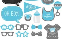 Amazon: Baby Boy – Piece Photo Booth Props Kit – 20 Count: Toys – Free Printable Baby Shower Photo Booth Props