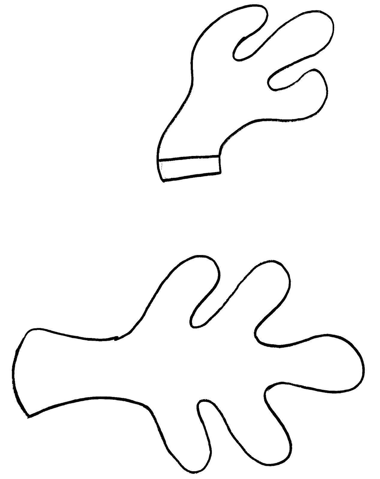Antler | Templates For Crafts | Pinterest | Reindeer, Bow Template - Reindeer Antlers Template Free Printable