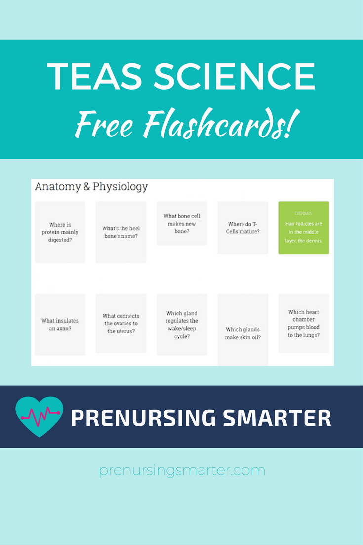Ati Teas Science Flashcards | Nursing School Fun, We Can Do This - Free Printable Teas Test Study Guide