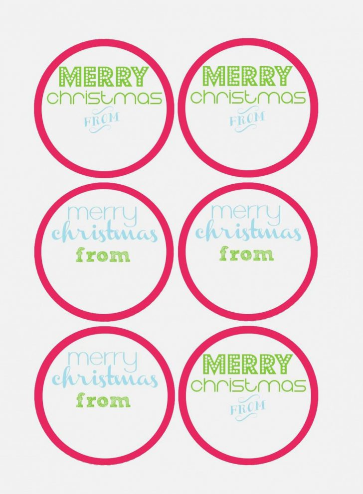 Free Printable Jar Labels Christmas