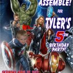 Avengers Birthday Invitation Templates Free | Birthdaybuzz   Avengers Party Invitations Printable Free