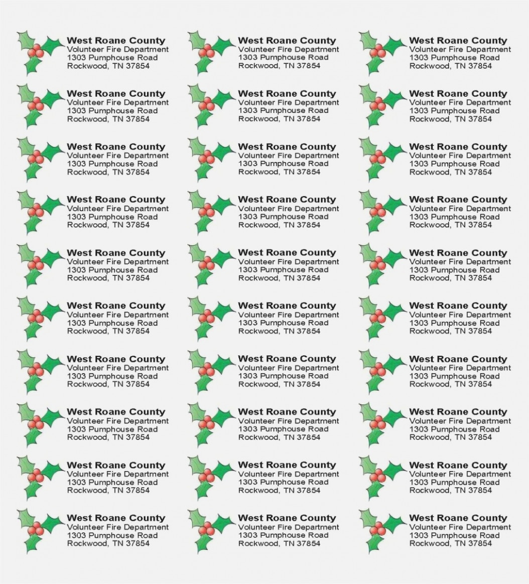 Avery Address Labels 15 Template New Free Christmas Return Address - Free Printable Christmas Return Address Label Template