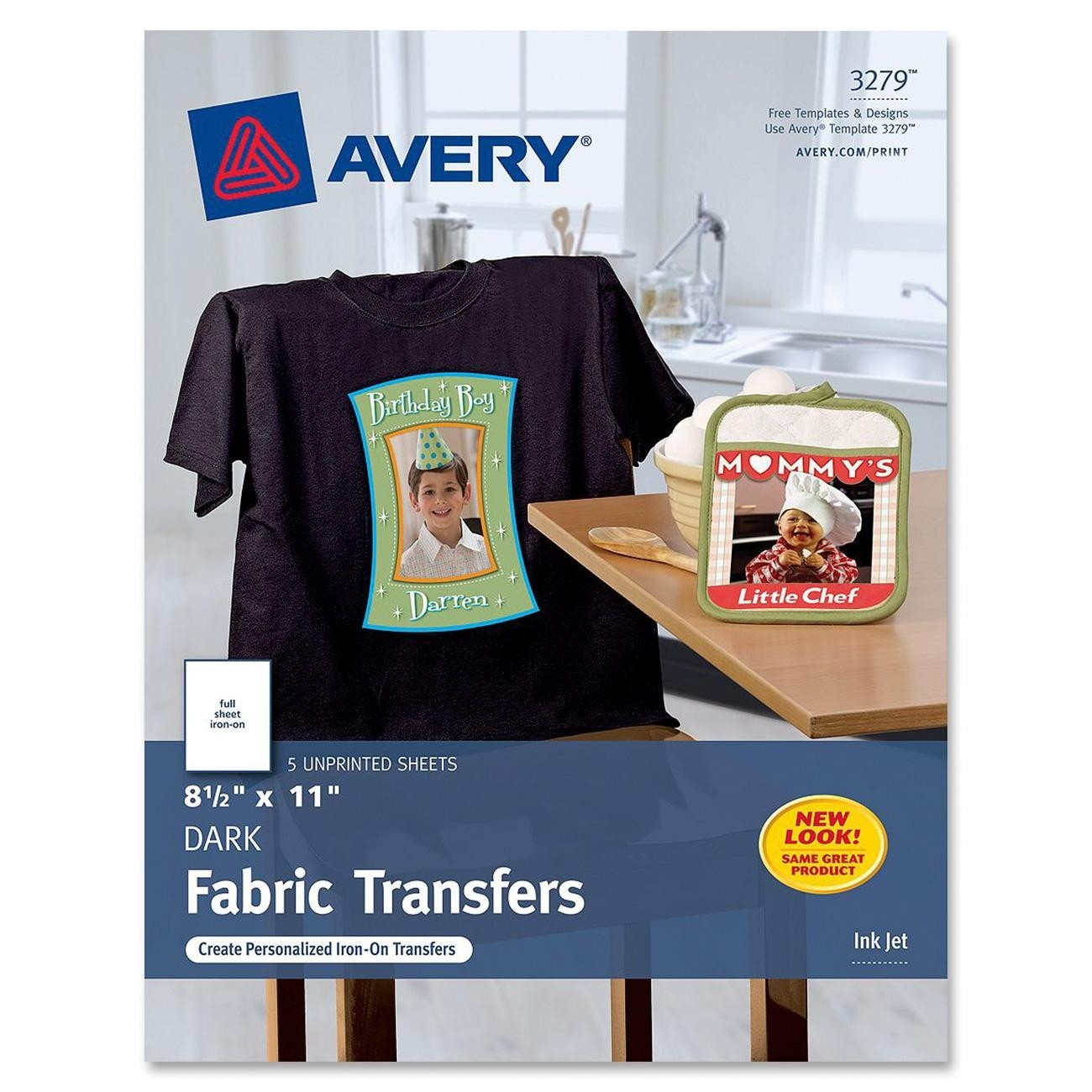 Avery Iron-On Transfer - Ld Products - Free Printable Iron On Transfers For T Shirts