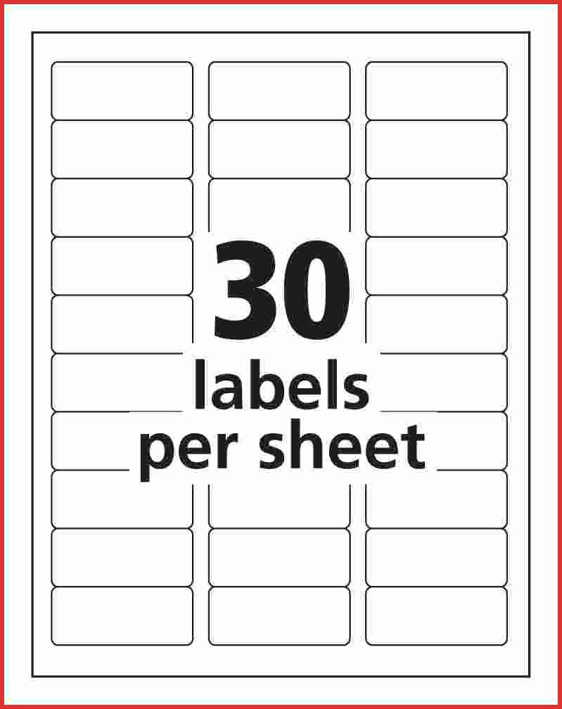 Avery Template 5160 Avery Templates For Microsoft Word Lovely Free - Free Printable Labels Avery 5160