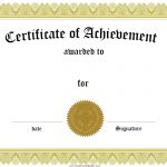 Award Certificate Template Certificate Templates Best Free Images   Free Printable Blank Certificates Of Achievement