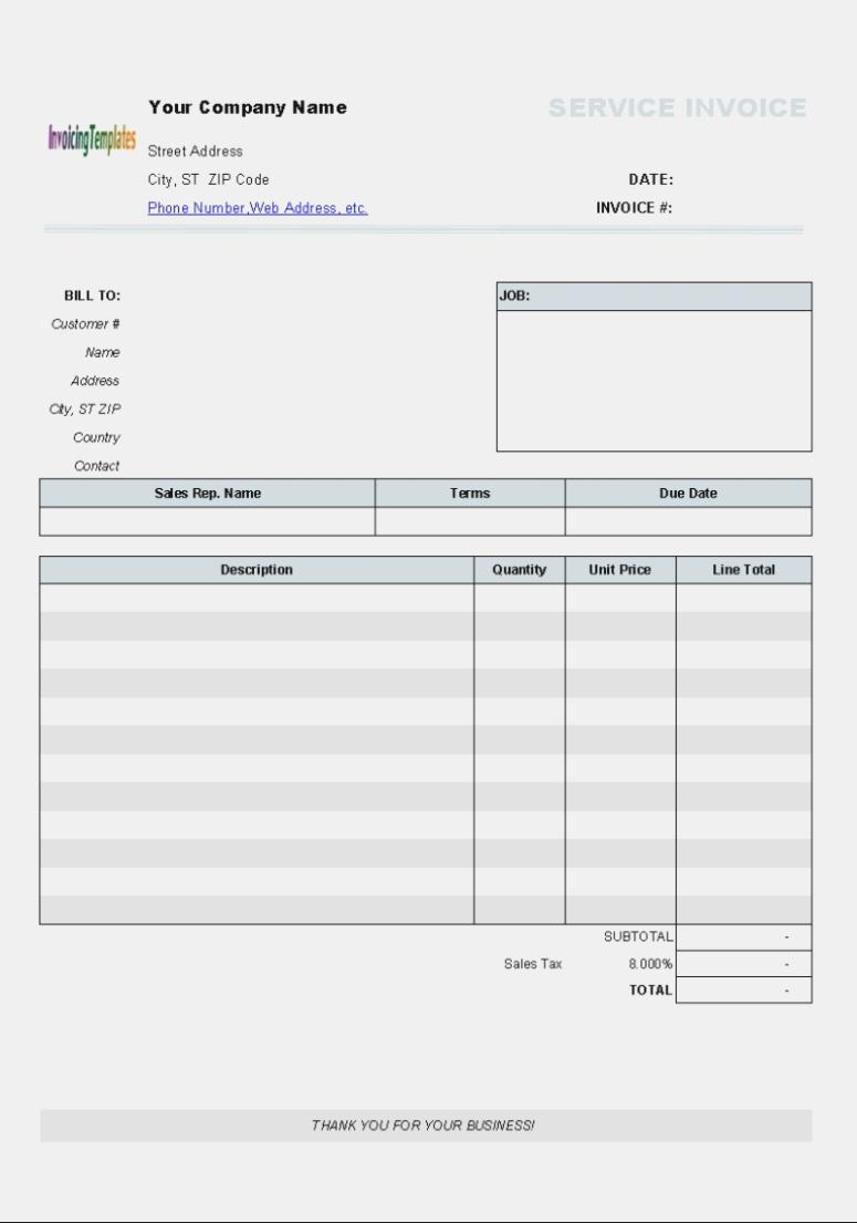 Aynax Com Free Printable Invoice Aynax Sample - Aynax Com Free Printable Invoice