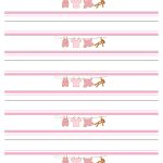 Baby Girl Shower Free Printables   How To Nest For Less™   Free Printable Water Bottle Labels For Baby Shower