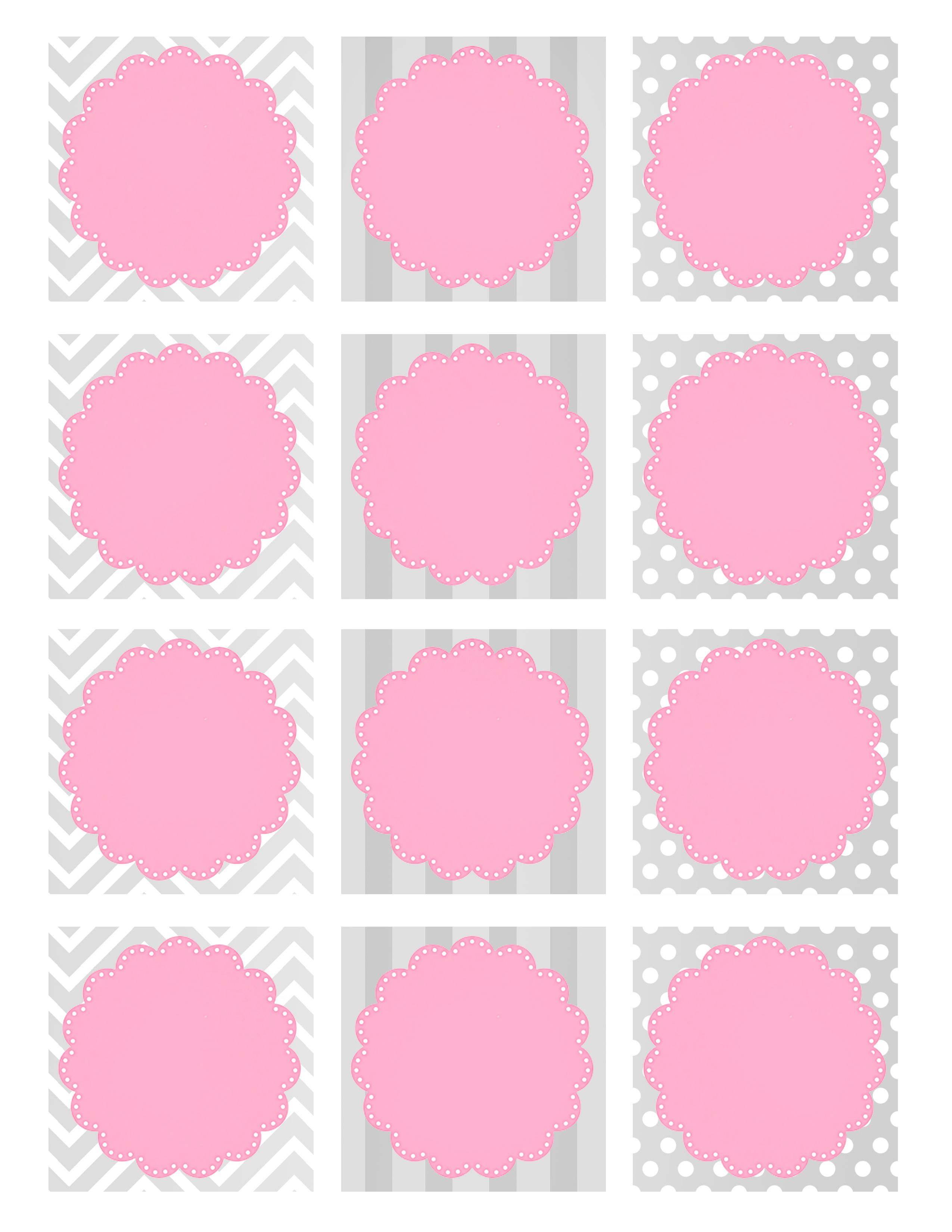 Baby Girl Shower Free Printables | Printable Pages | Pinterest - Free Printable Baby Shower Decorations For A Boy