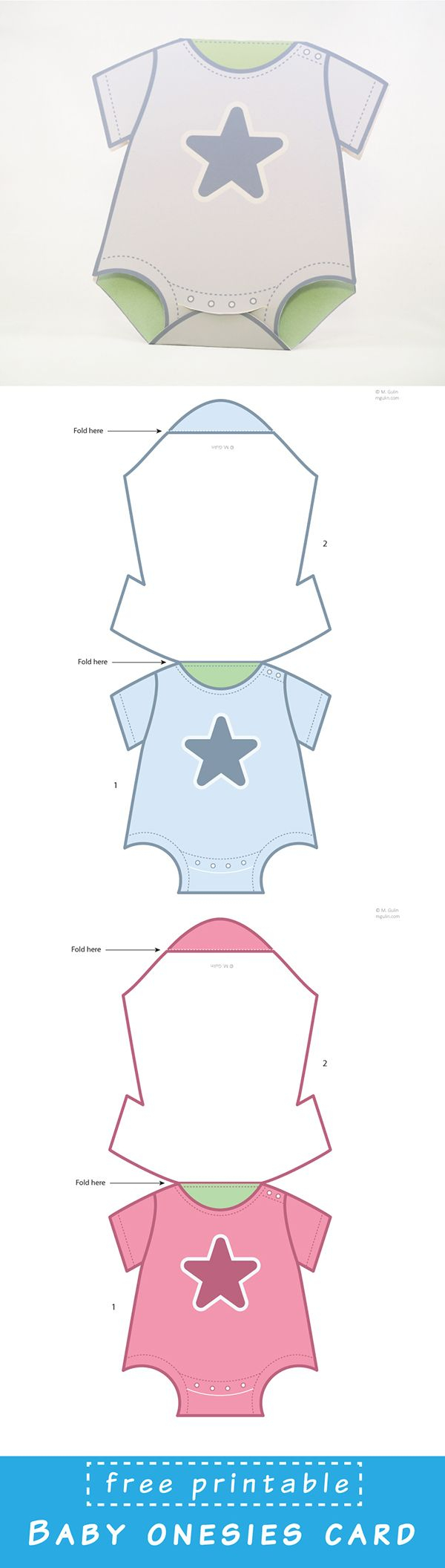 Baby Onesies Cards   Tutos   Pinterest   Baby Cards, Baby Et Cards - Free Printable Baby Cards Templates