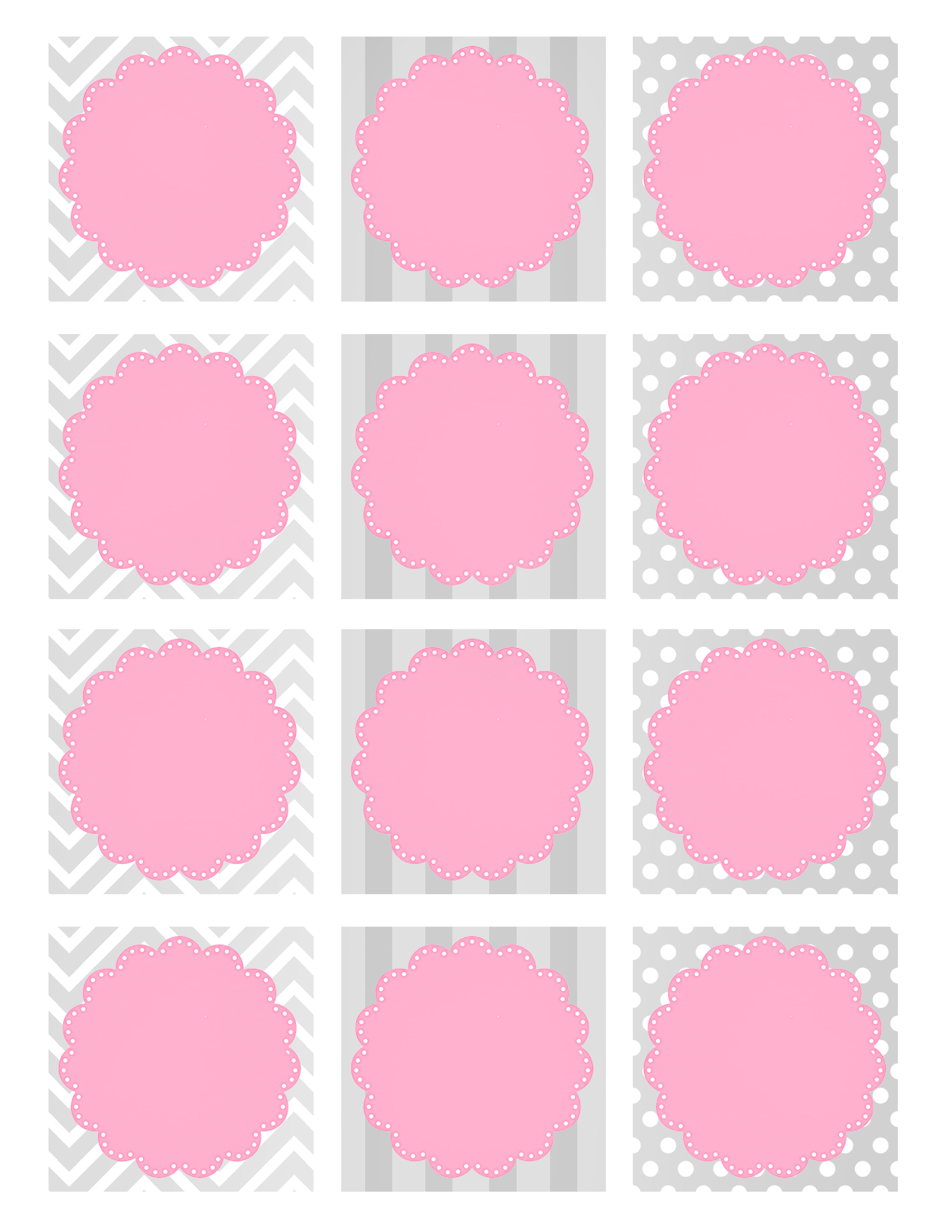Baby Shower. Baby Shower Gift Tags: Baby Shower Favor Tag Printables - Free Printable Baby Shower Favor Tags Template