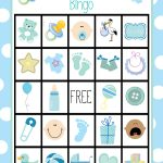 Baby Shower Bingo Cards   Baby Bingo Game Free Printable
