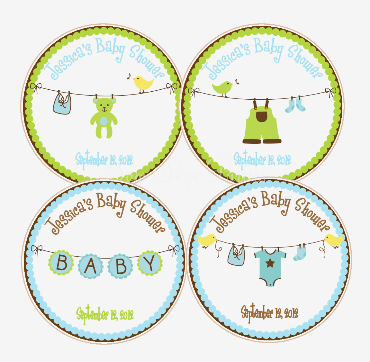 picture relating to Printable Baby Shower Labels titled Totally free Printable Kid Shower Prefer Tags No cost Printable Obtain