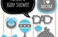 Baby Shower. Photo Booth Baby Shower: Baby Shower Photo Booth Props – Free Printable Boy Baby Shower Photo Booth Props