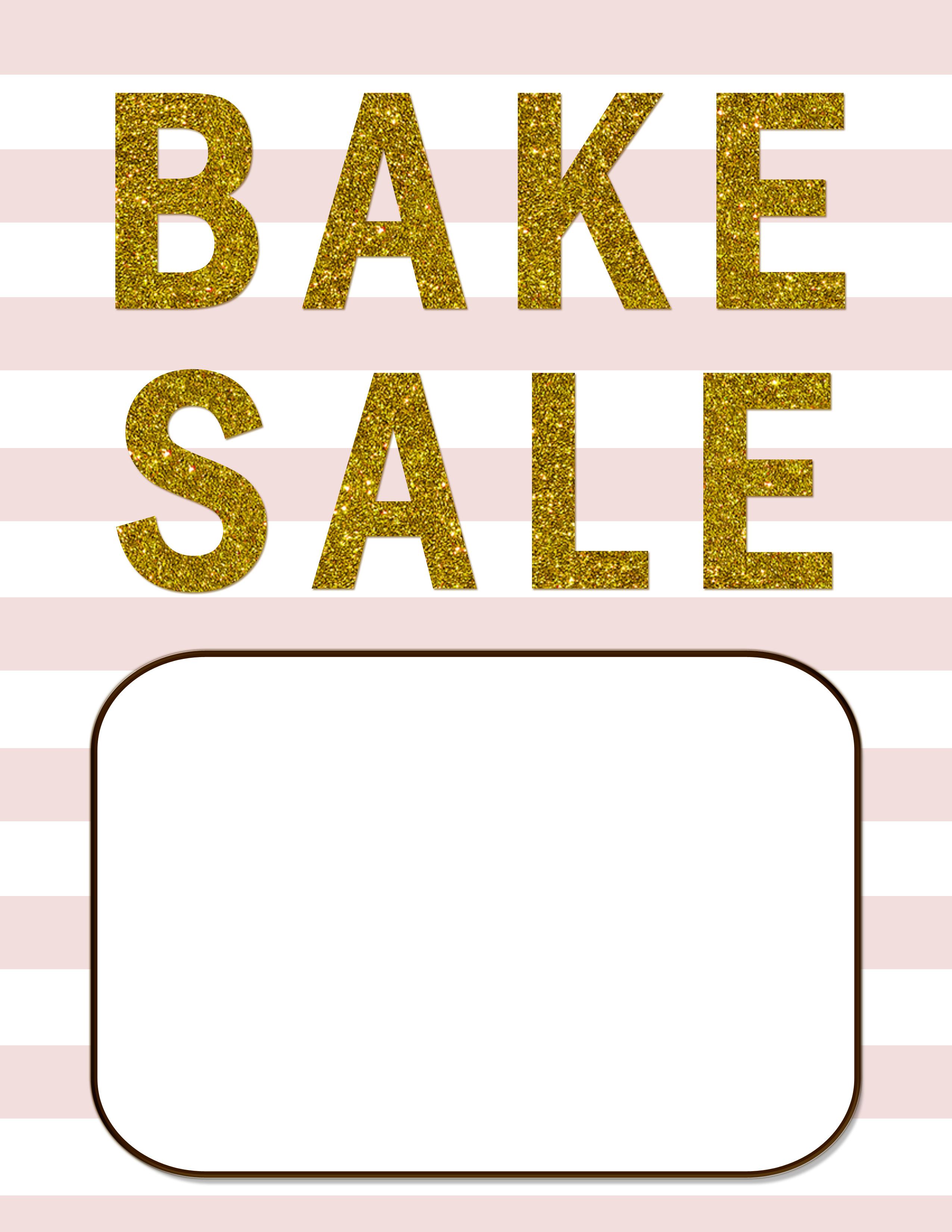 Bake Sale Flyers – Free Flyer Designs - Free Printable Fundraiser Flyer Templates