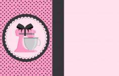 Baking In Pink: Free Printable Kit. | Oh My Fiesta For Ladies! – Free Printable Baking Labels