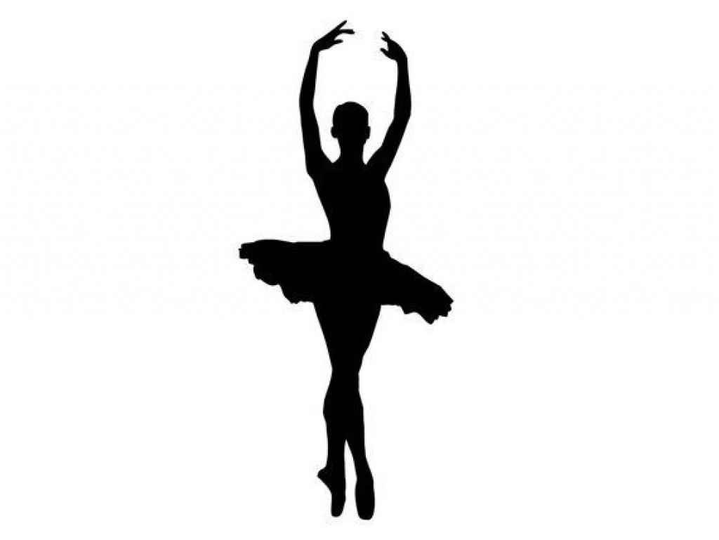 Ballerina Silhouette Printable At Getdrawings   Free For Within Free - Free Printable Ballerina Silhouette