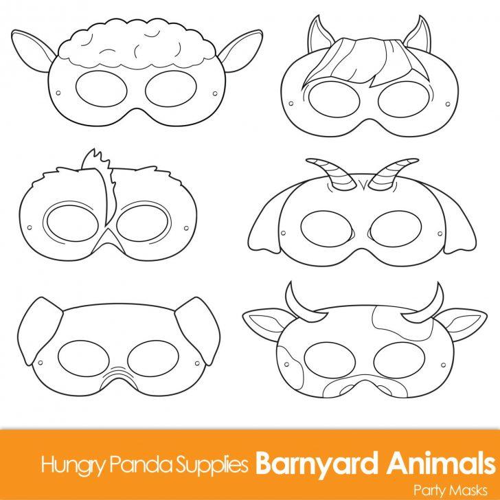 Free Printable Sheep Mask