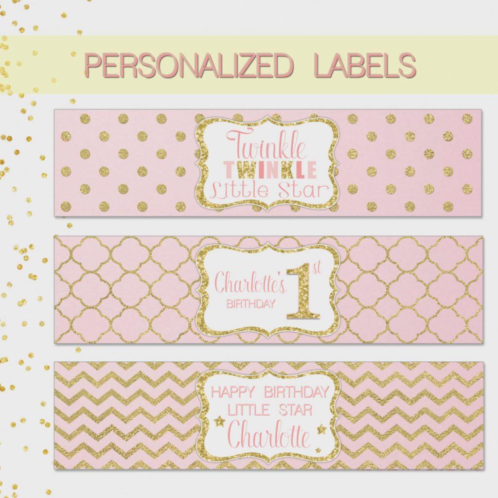 Beautiful Free Printable Water Bottle Label Template .. – Label .. - Free Printable Water Bottle Labels