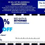 Bed Bath And Beyond Coupons   Free Printable Bed Bath And Beyond Coupon 2019