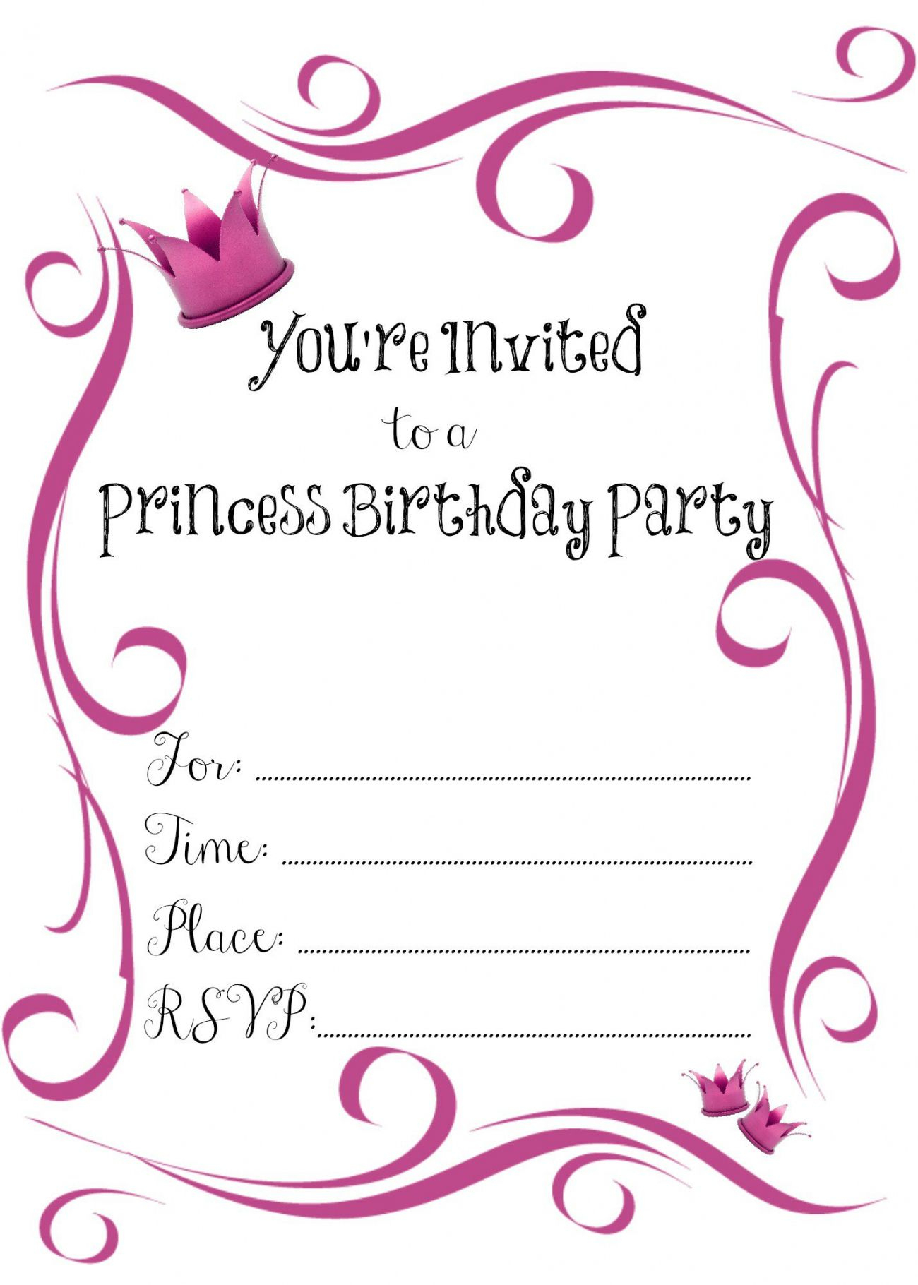 Best 2018! New Tips Of Printable Invitations Online Free New 2018 - Birthday Party Invitations Online Free Printable
