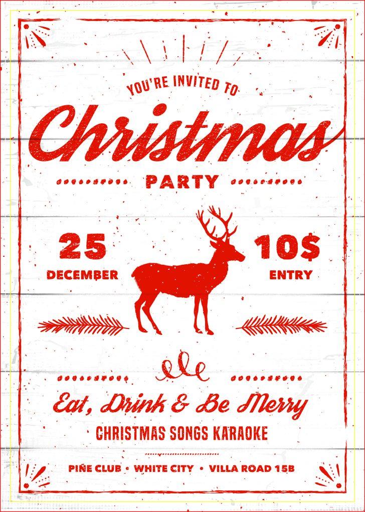 Holiday Invitations Free Printable