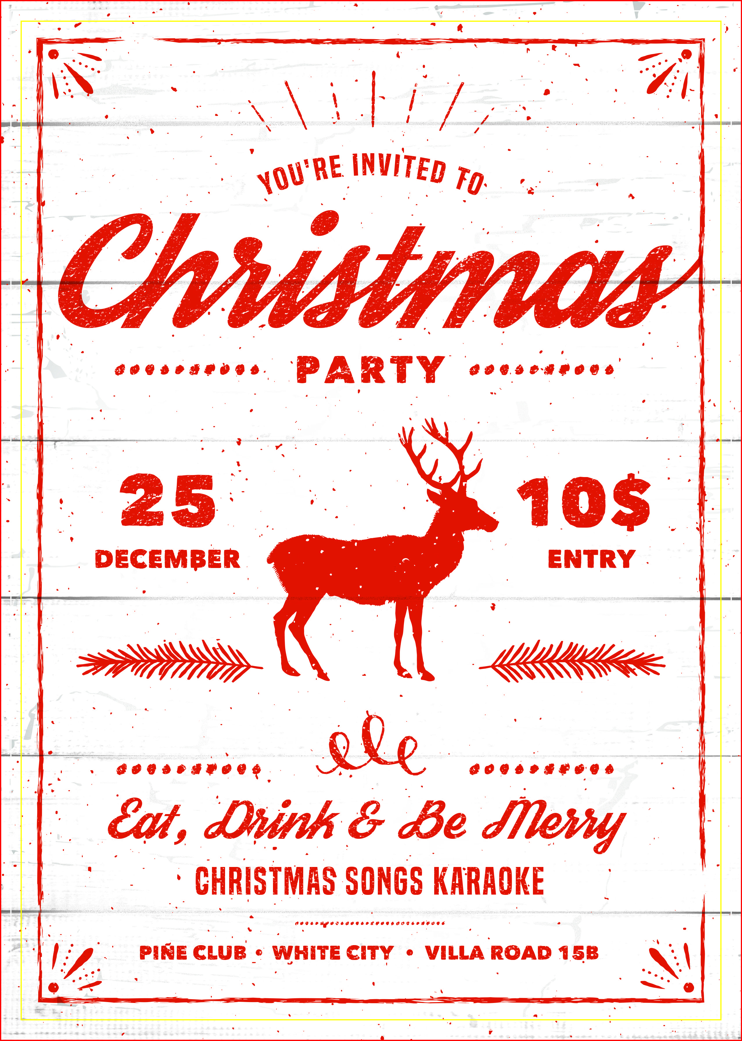 Best Christmas Party Invitations Free Printable | Holiday Ideas - Holiday Invitations Free Printable