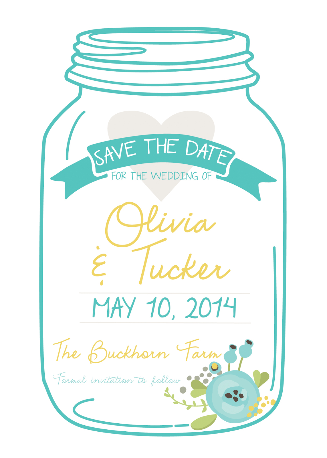 Best Images Of Free Printable Mason Jar Invitation Template - Free Mason Jar Wedding Invitation Printable Templates