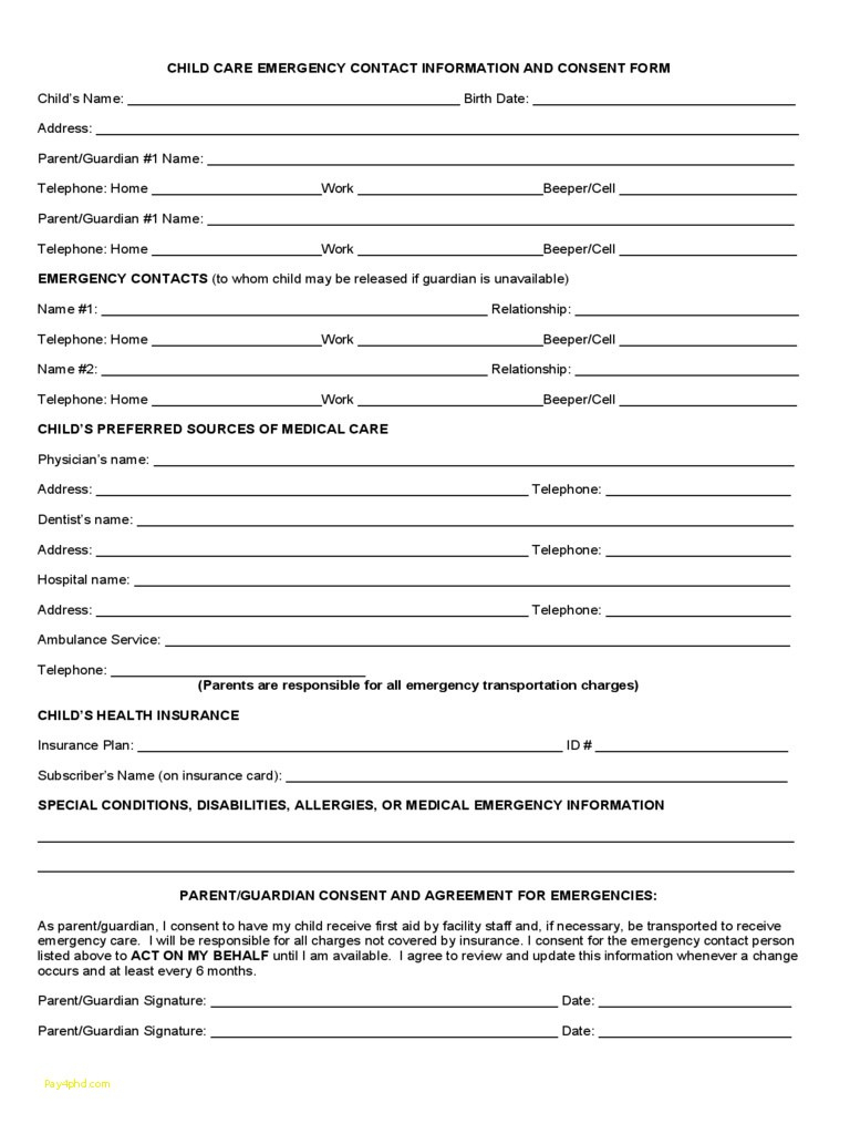 Best Of Daycare Tax Form For Parents #9807684201 – Child Care - Free Printable Daycare Forms For Parents