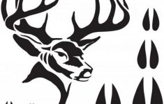 Best Photos Of Free Printable Deer Stencils – Deer Head Silhouette – Free Printable Deer Pumpkin Stencils