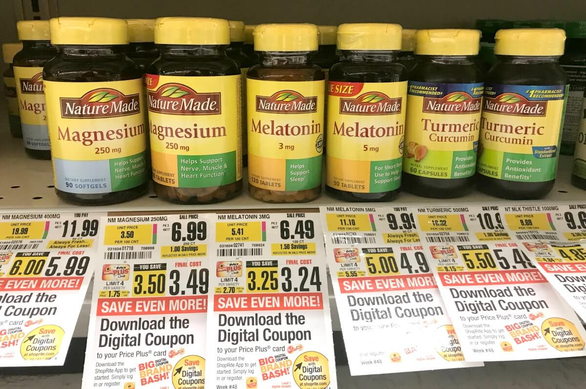 Better Than Free Nature Made & Nature's Truth Vitamins At Shoprite - Free Printable Nature Made Vitamin Coupons
