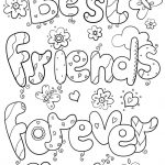 Bff Coloring Pages Best Of Friends Forever Page Logo And | Ideas For   Free Printable Bff Coloring Pages