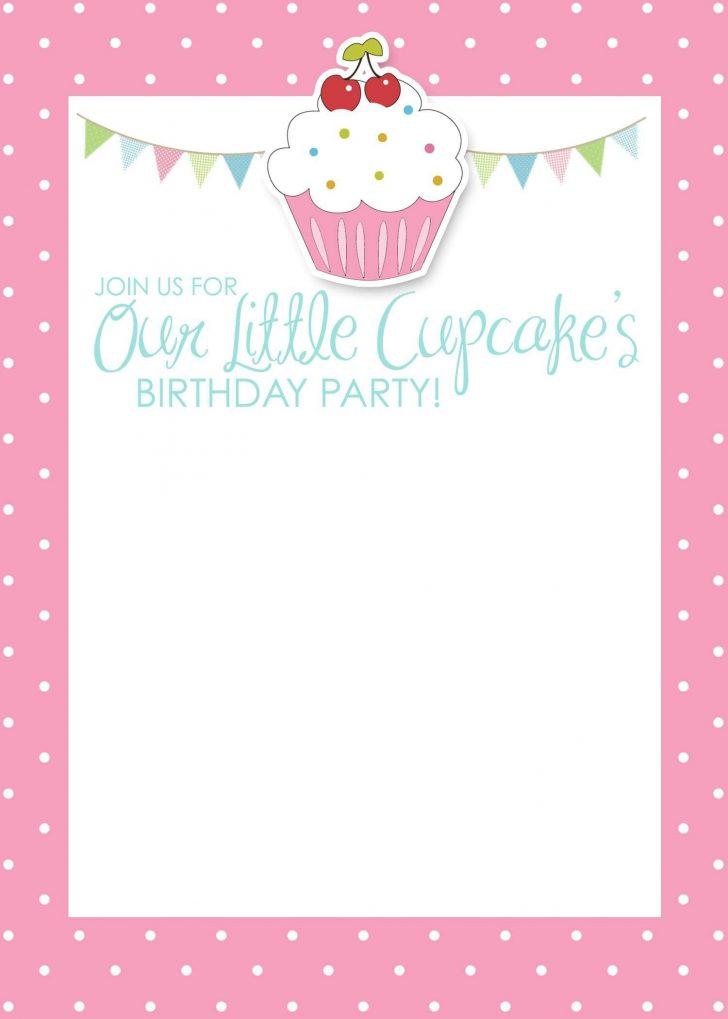 Free Printable Birthday Invitation Cards Templates