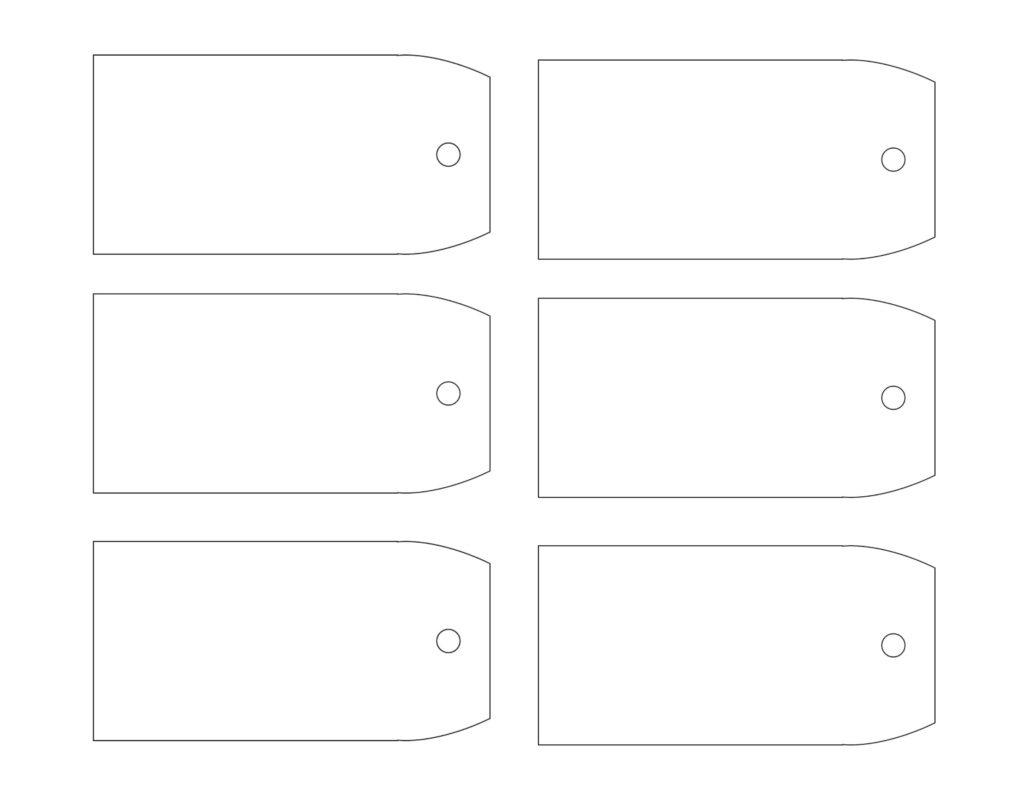 Blank Gift Tags Printable - All Free Tag Designs - Free Printable Blank Gift Tags
