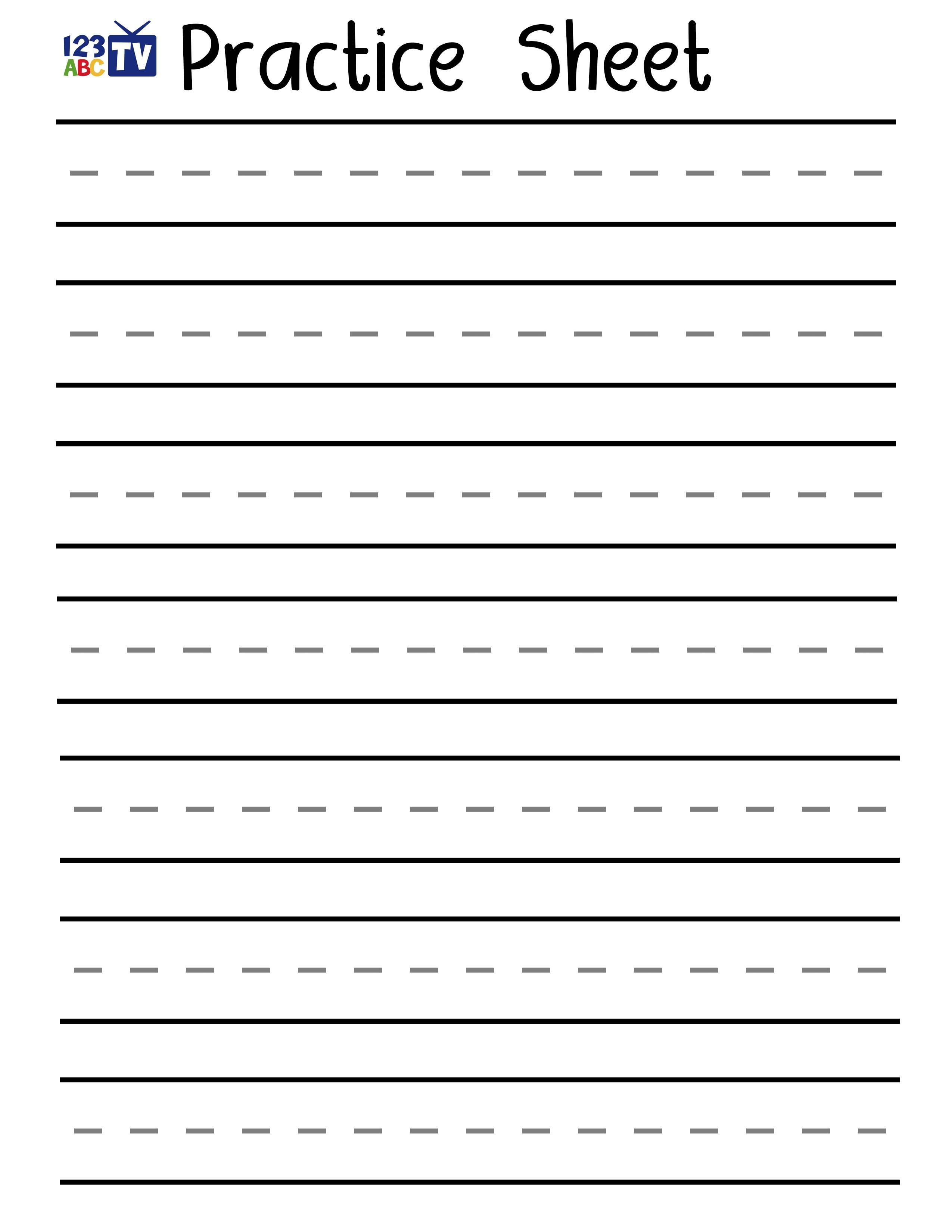Blank Handwriting Worksheets Pdf Awesome Print Handwriting - Free Printable Blank Handwriting Worksheets