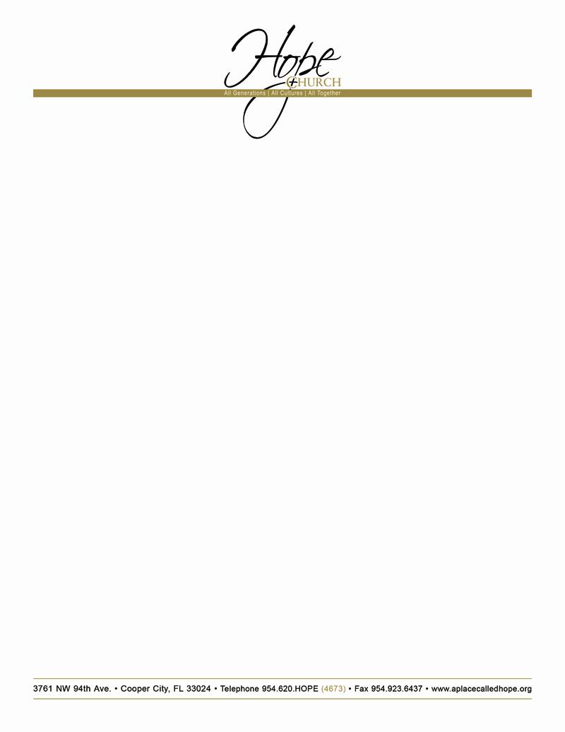Blank Letterhead Template Free Free Church Letterhead Templates Free - Free Printable Religious Letterhead