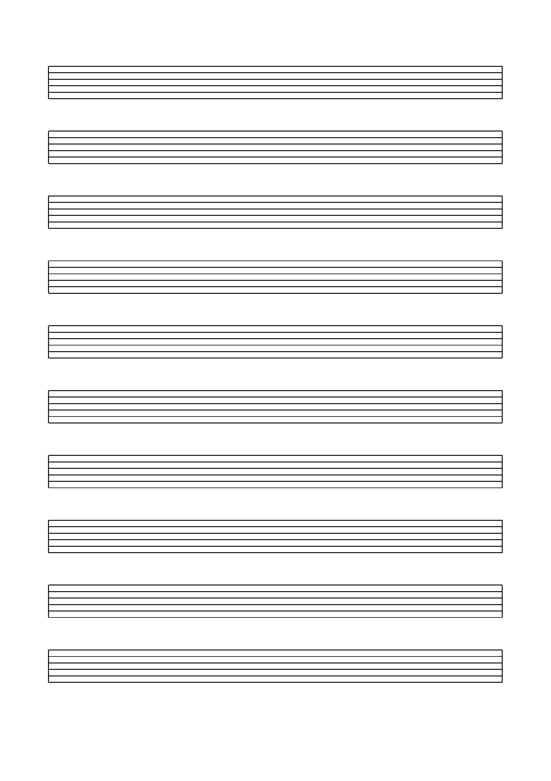 Blank Music Staff Paper Pdf - Free Printable Grand Staff Paper