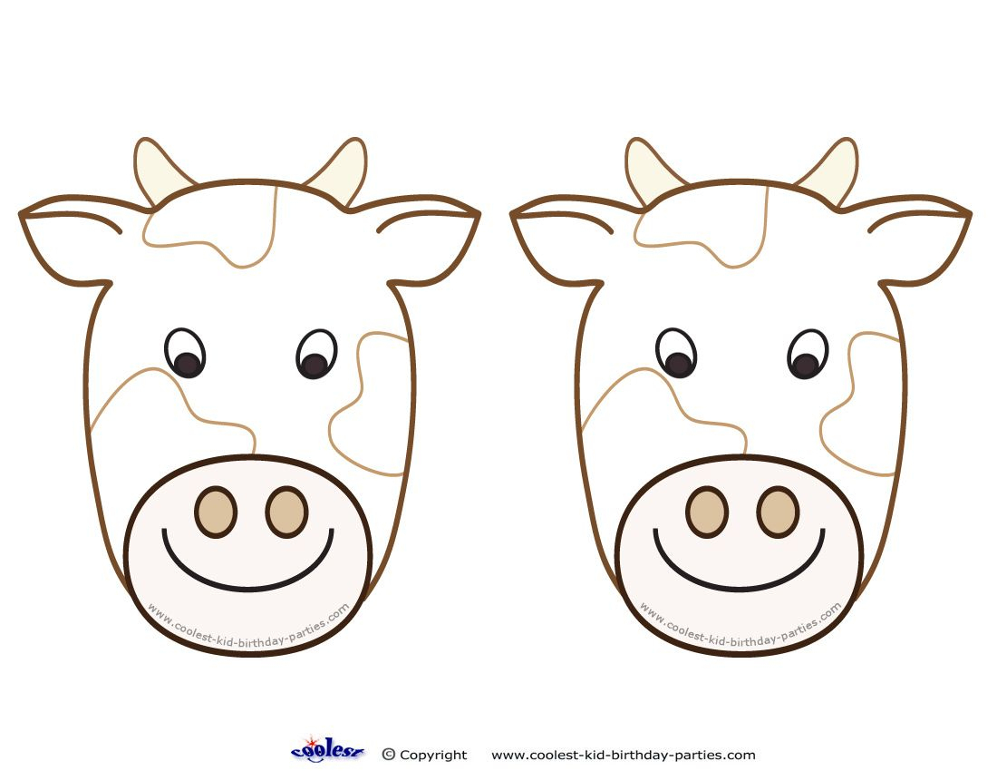 Blank Printable Cow Invitations - Coolest Free Printables   Cow - Free Printable Cow Birthday Invitations