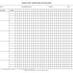 Blank+Medication+Administration+Record+Template | Work | Pinterest   Free Printable Medication Log