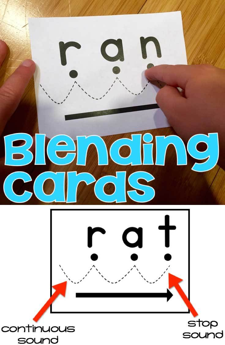 Blending Cards For Early Readers - Free Printable Blending Cards