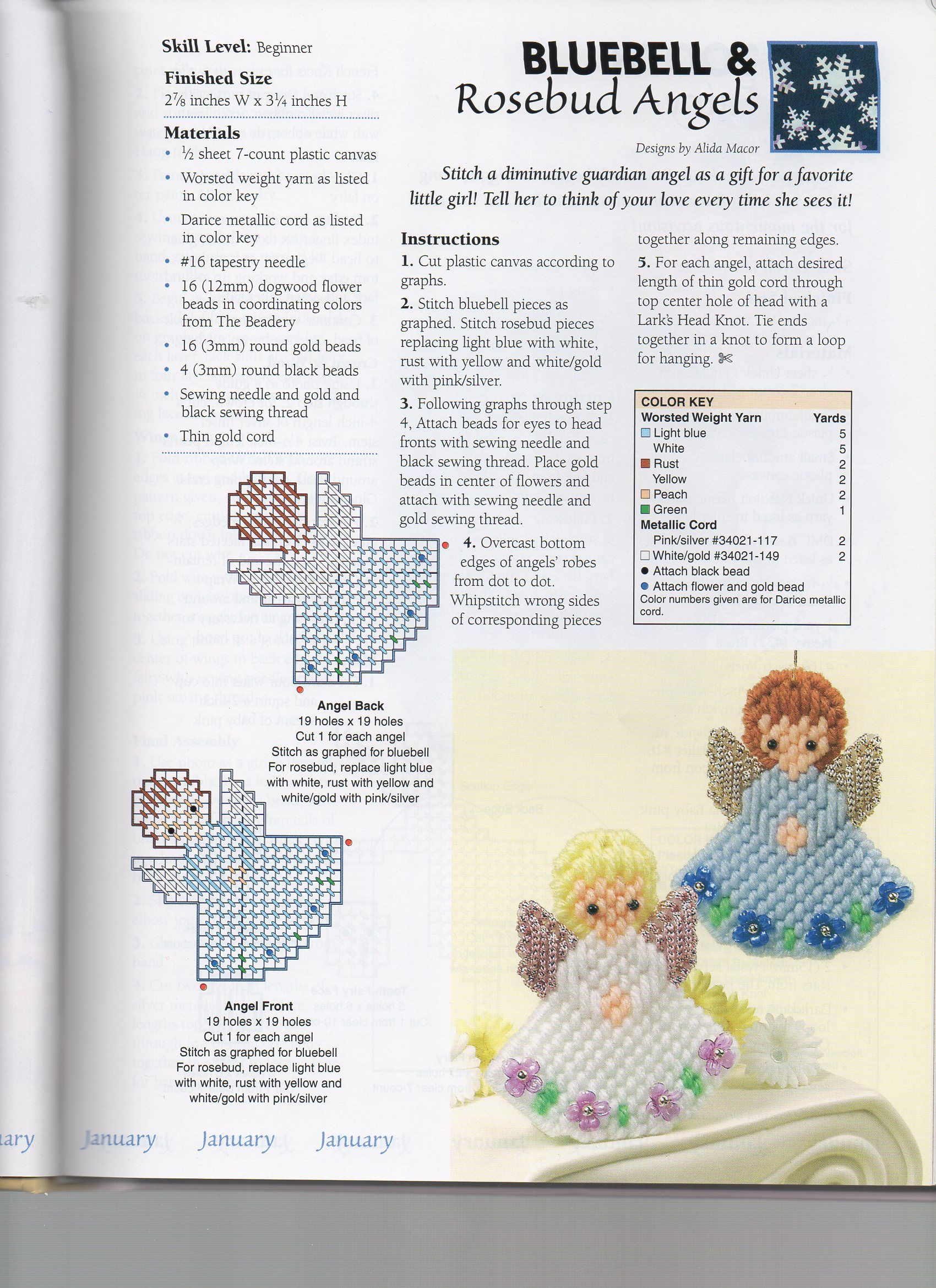 Bluebell And Rosebud Angels | Plastic Canvas | Pinterest | Plastic - Free Printable Plastic Canvas Patterns Bookmarks