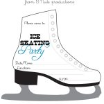 Bnute Productions: Free Printable Ice Skating Party Invitation   Free Printable Skateboard Birthday Party Invitations