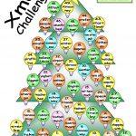 Board Game   Xmas Challenge Worksheet   Free Esl Printable   Free Printable Christmas Board Games