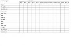 Free Printable Weight Loss Graph Chart